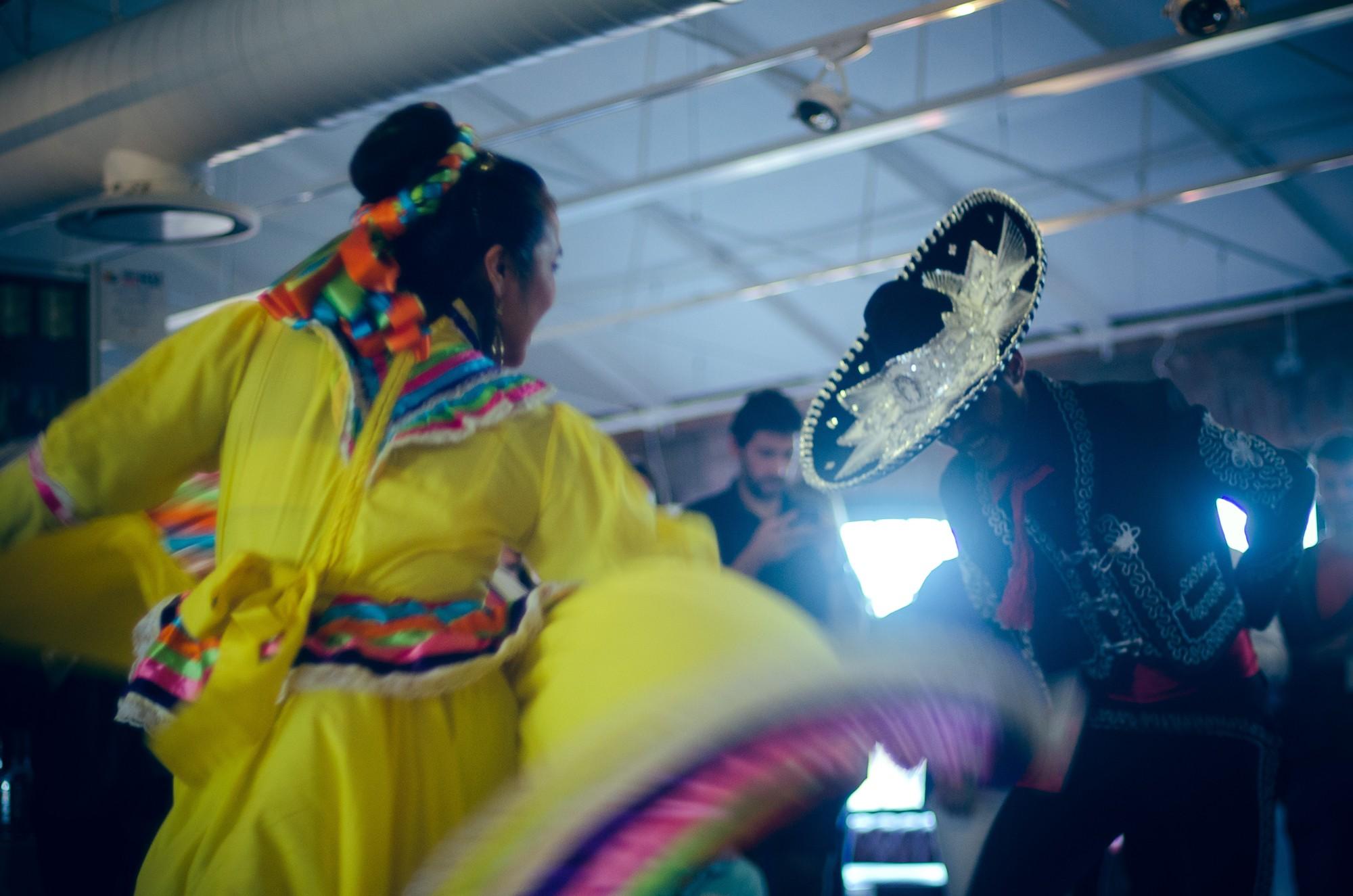 Mestizo Mexican Folklore