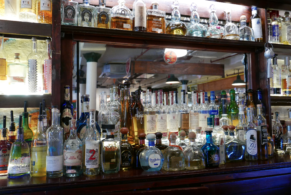 Cafe Pacifico's Tequila Selection