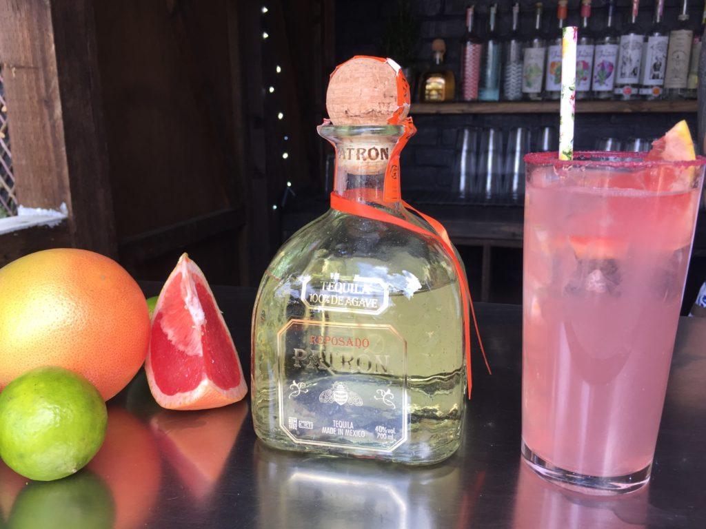 Patron Tequila Paloma Cocktail