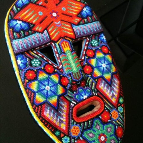 Mexican Bead Work Mask