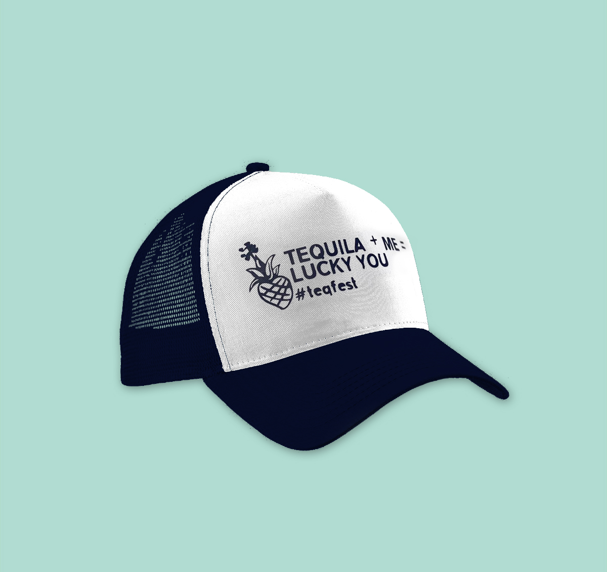 tequilafest london lucky you cap